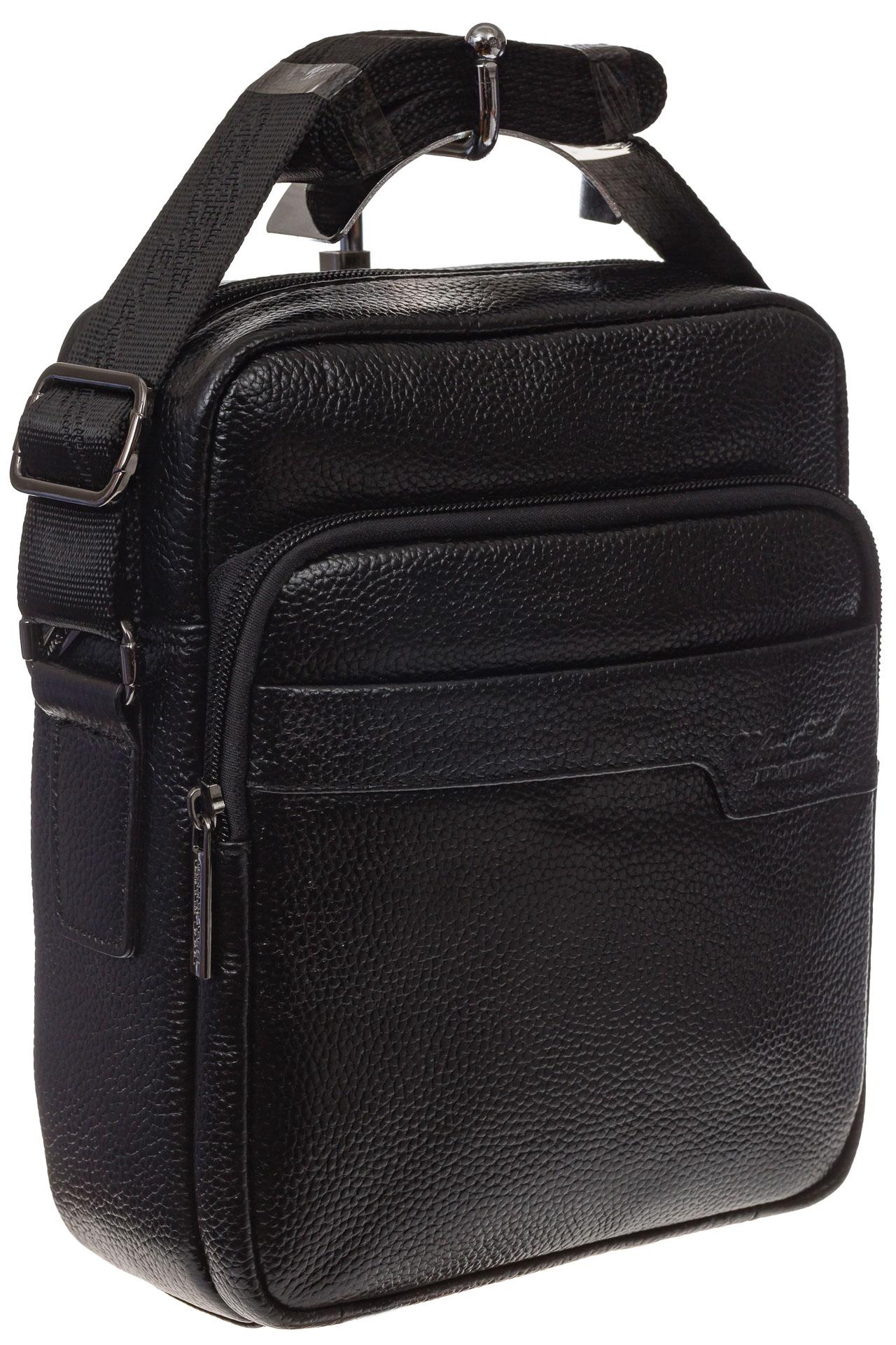 На фото 1 - Мужская сумка из натуральной кожи