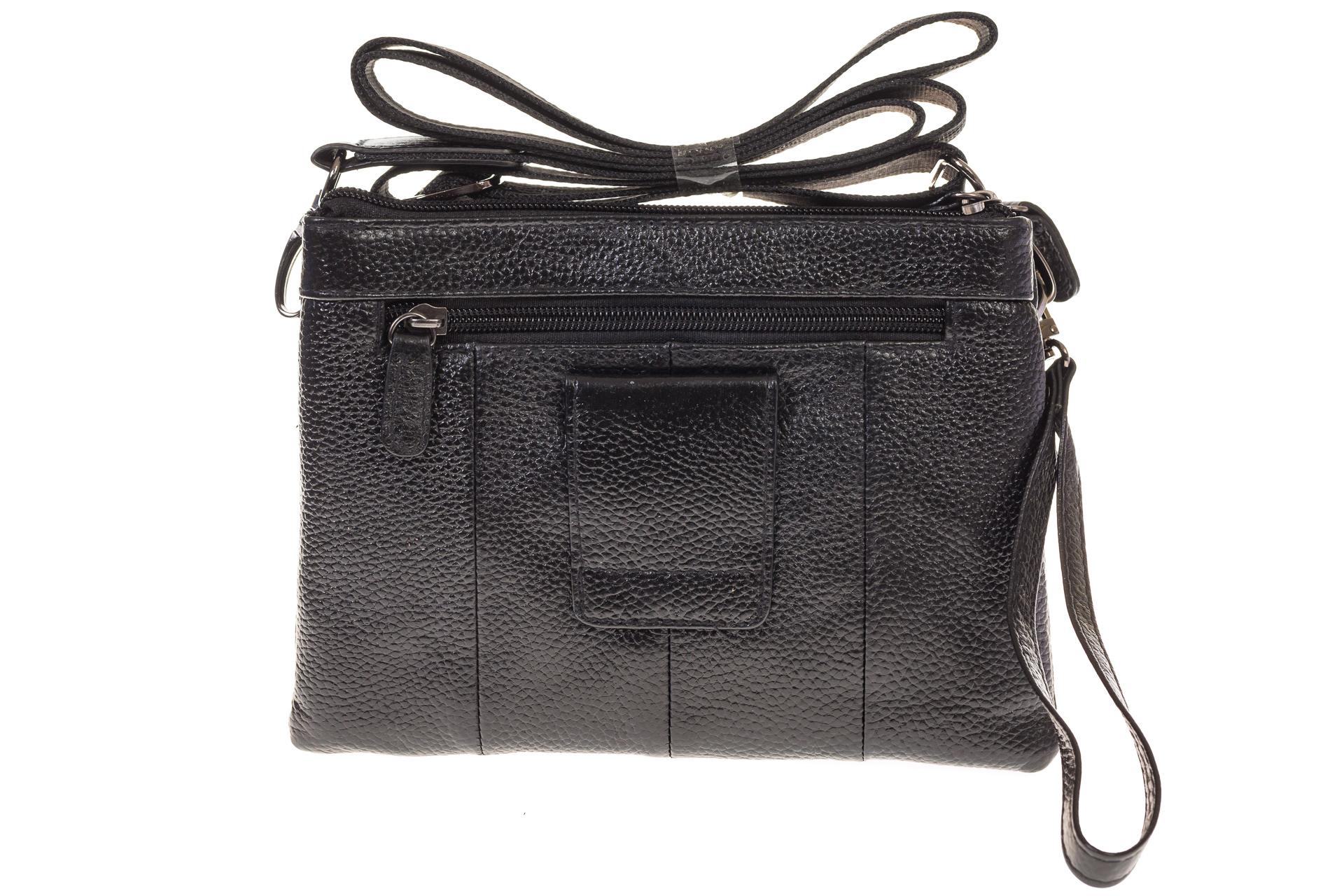 На фото 3 - Универсальная сумка-барсетка из натуральной кожи 3090MM5