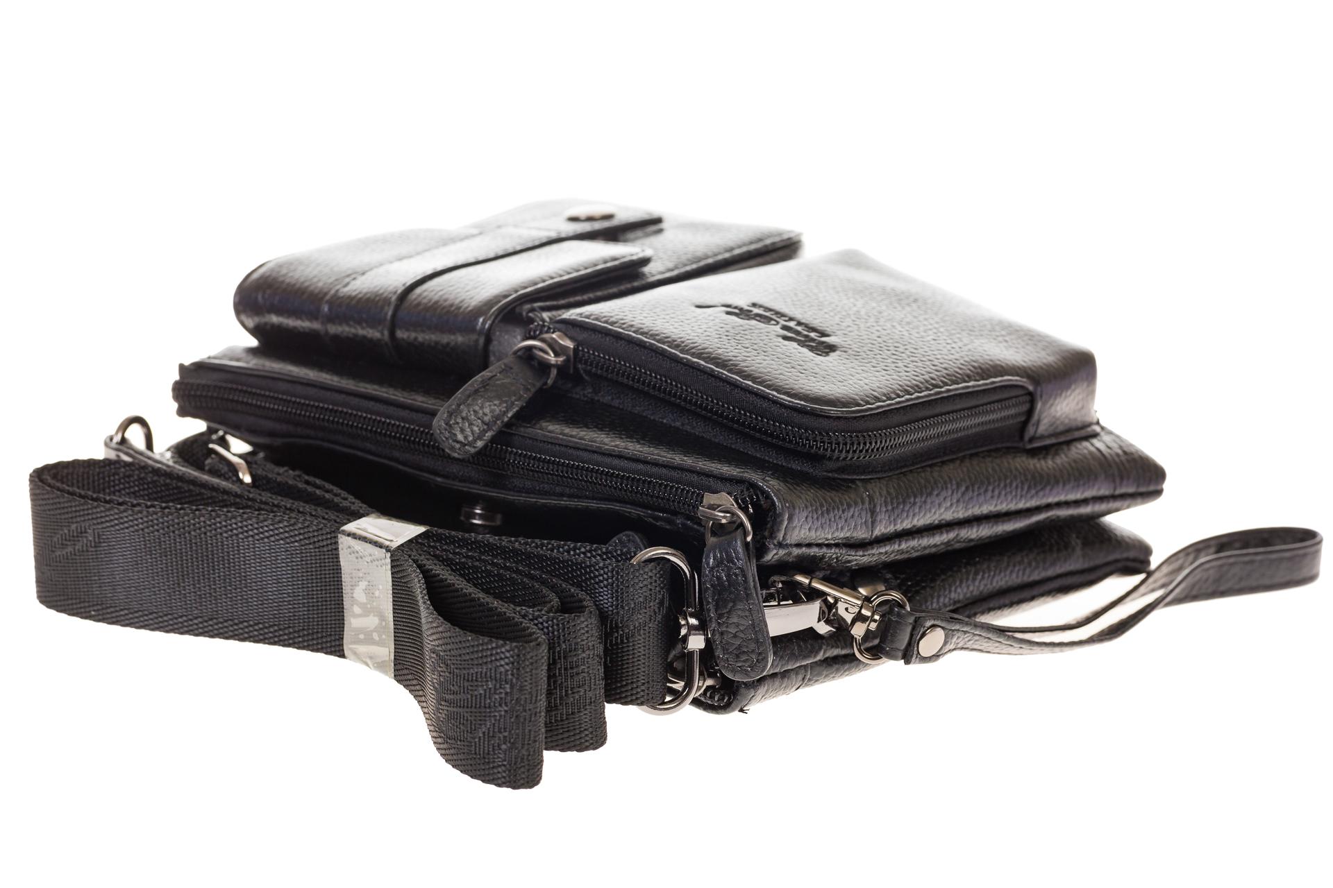 На фото 4 - Универсальная сумка-барсетка из натуральной кожи 3090MM5