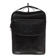 На фото 2 - Мужская сумка из натуральной кожи
