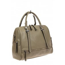 На фото 1 - Большая женская сумка из искусственной кожи...