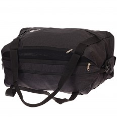 На фото 3 - Дорожная сумка с фастексами, цвет темно-серый