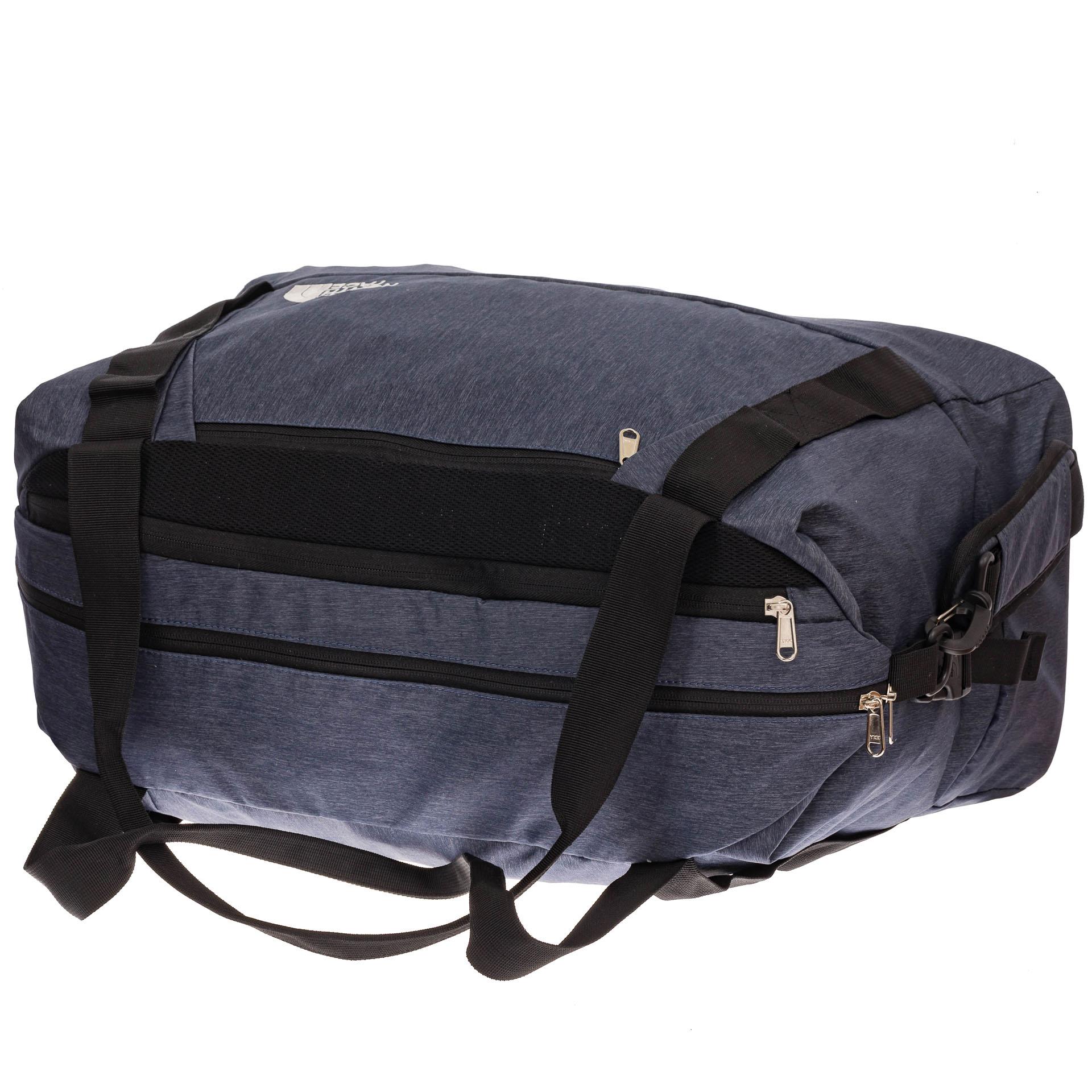 На фото 3 - Дорожная сумка с фастексами, цвет серый