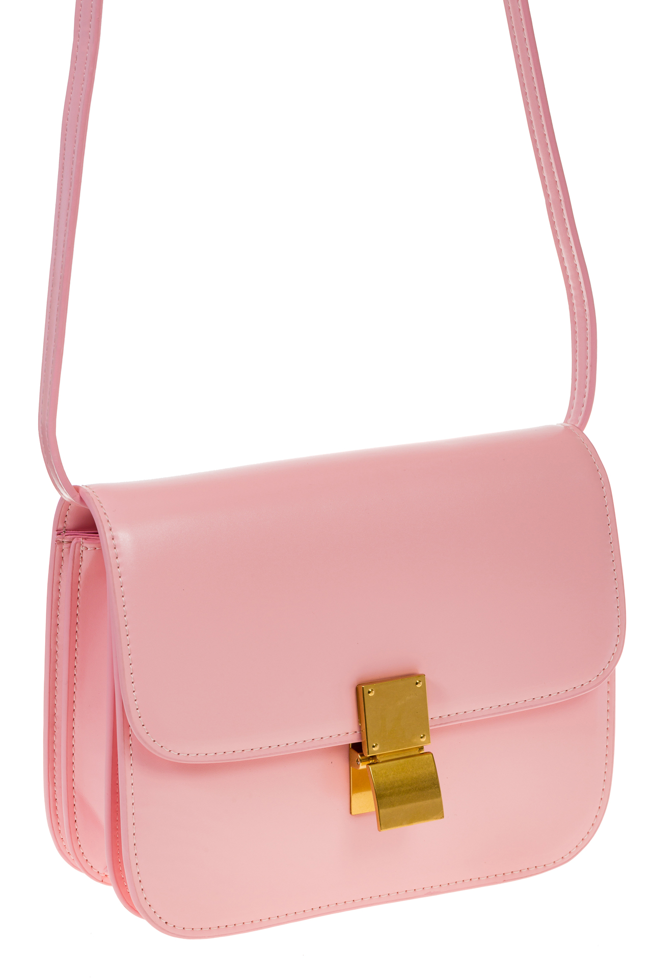 Розовая сумочка cross-body из натуральной кожи 3221MK53221MK5/16