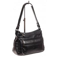На фото 1 - Женская сумка хобо из искусственной кожи, ц...