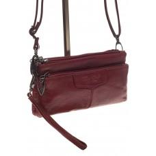 На фото 1 - Маленькая женская сумка из натуральной кожи...