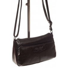 На фото 1 - Женская сумка из натуральной кожи, цвет коф...