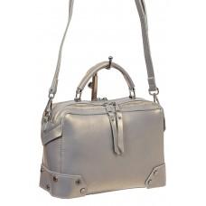На фото 1 - Мини shoulder bag для лета из натуральной к...