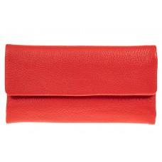 На фото 1 - Женский кошелек из натуральной кожи, цвет к...