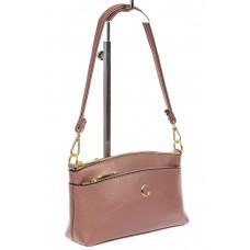 На фото 1 - Женская сумка из эко-кожи, пудра