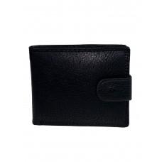 На фото 1 - Мужской кошелёк из искусственной кожи, цвет чёрный