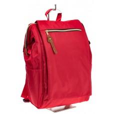На фото оригинальный молодежный рюкзак, цвет – красный, материал – текстиль, купить оптом в магазине Грета