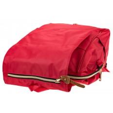 На фото 4 - Оригинальный молодежный рюкзак из текстиля, цвет – красный