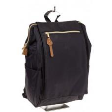 На фото оригинальный молодежный рюкзак, цвет – черный, материал – текстиль, купить оптом в магазине Грета