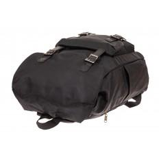 На фото 4 - Мужской городской рюкзак-торба, цвет черный