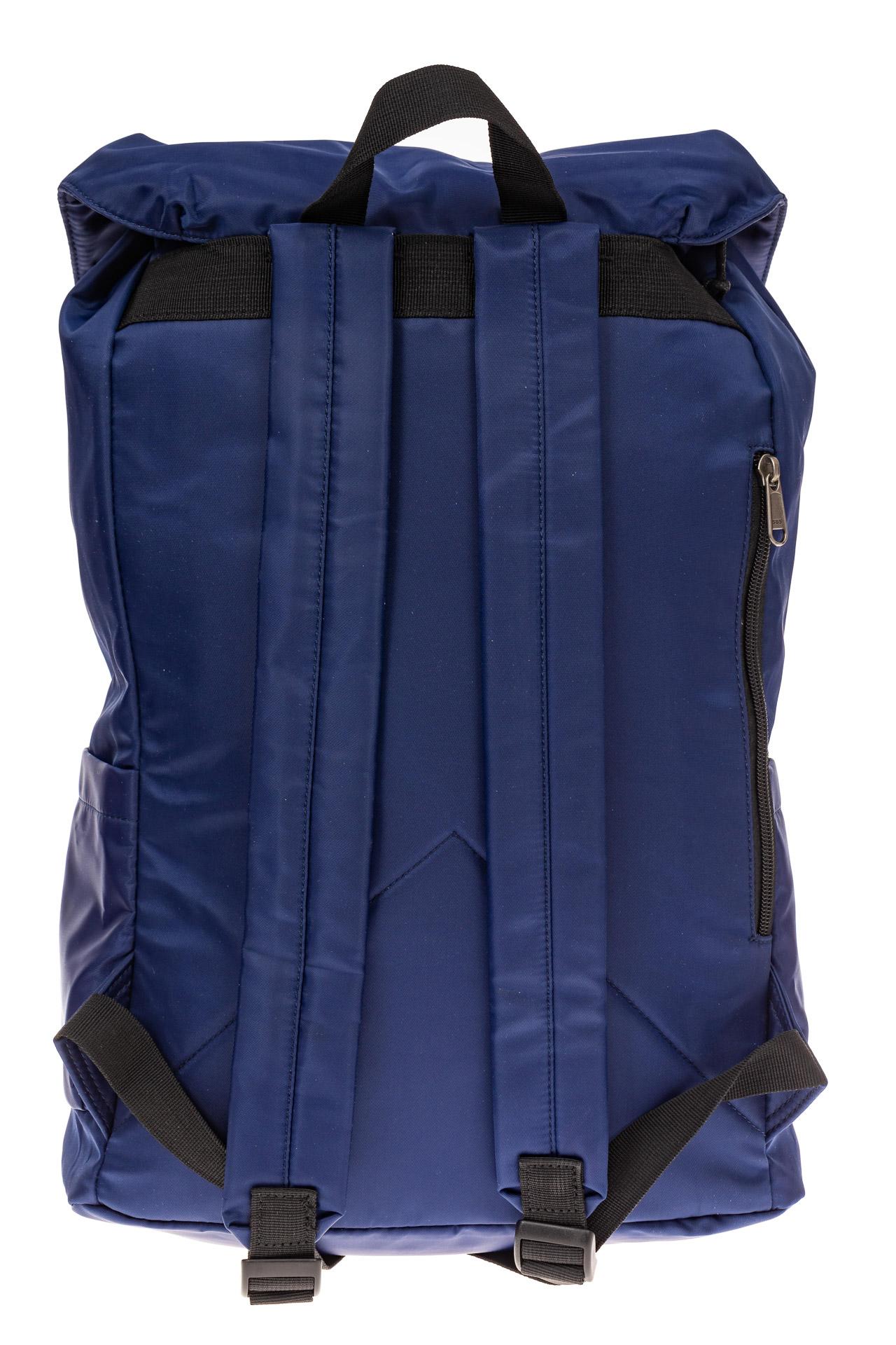 На фото 3 - Мужской городской рюкзак-торба, цвет синий