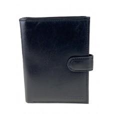 На фото 1 - Чёрная обложка для паспорта и автодокументов из натуральной кожи
