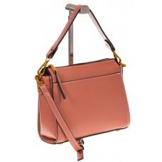 на фото Shoulder bag из натуральной кожи розового цвета 5001MK5