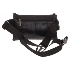 На фото 3 - Маленькая мужская сумка из натуральной кожи