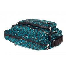 На фото 4 - Текстильная  сумка с принтом, цвет бирюзовый