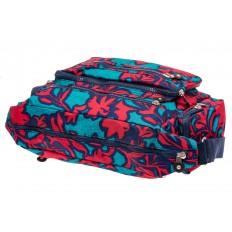 На фото 4 - Текстильная сумка 2019 с принтом, цвет фуксия