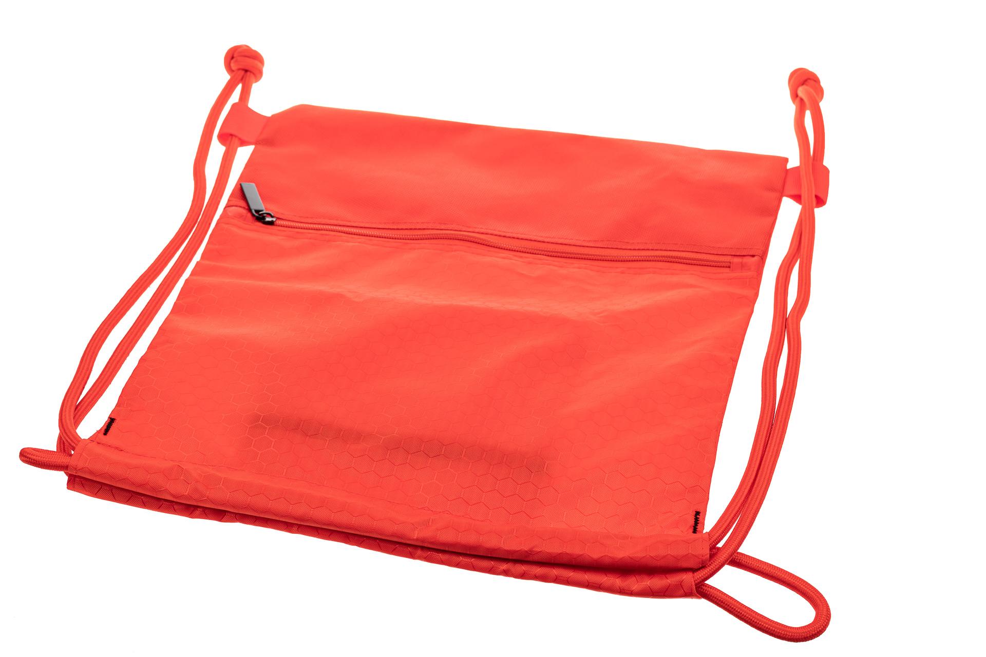 На фото 3 - Мешок для обуви в школу, цвет красный