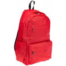 На фото вертикальный рюкзак, цвет – красный, материал – текстиль, купить оптом в магазине Грета