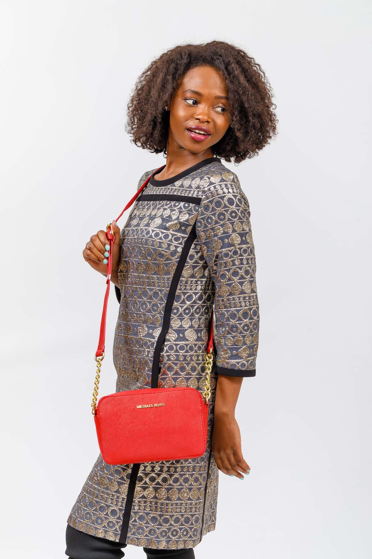 На фото 5 - Сумка женская из экокожи, цвет джинс