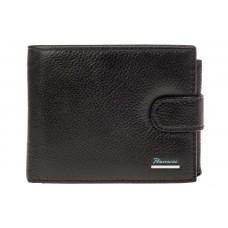 На фото 1 - Брендовый кошелек-книжка из черной кожи