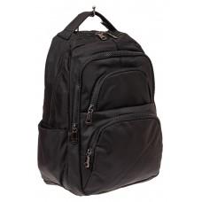 На фото 1 - Городской мужской рюкзак, цвет черный