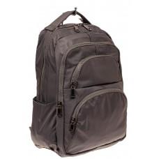 На фото 1 - Городской мужской рюкзак, цвет серый