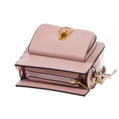 На фото 4 - Сумка через плечо розового цвета 5686