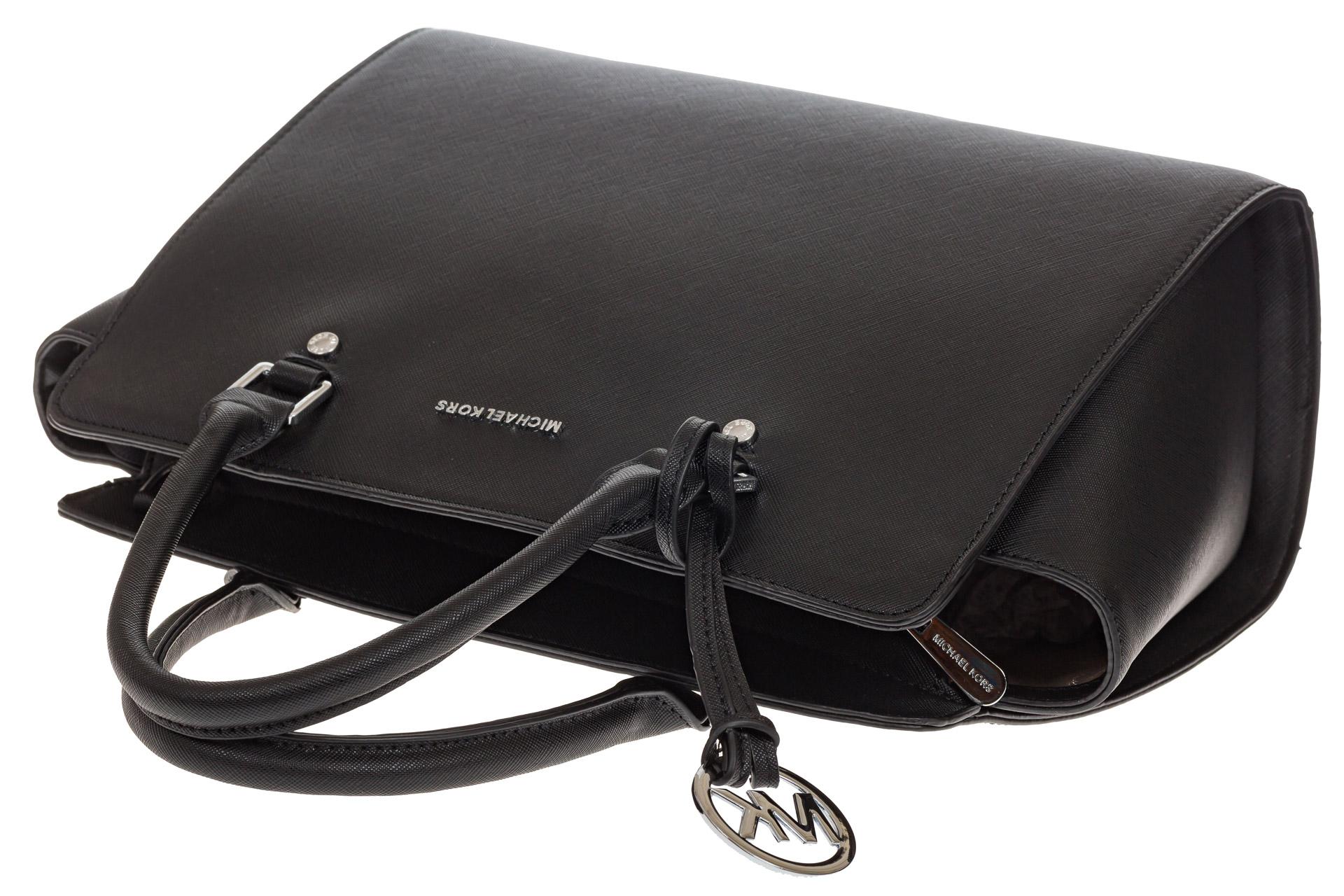 На фото 4 - Каркасная женская сумка из искусственной кожи, цвет черный