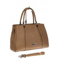 На фото 1 - Классическая сумка из искусственной кожи, ц...