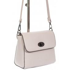 На фото 1 - Женская сумка кросс-боди из экокожи, белая