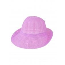 На фото 1 - Лёгкая женская шляпка, цвет ярко-сиреневый