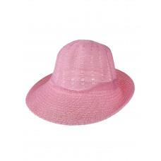 На фото 1 - Лёгкая женская шляпка, цвет фуксия