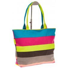 На фото 1 - Яркая текстильная сумка с желтым цветом 593...