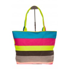 На фото 2 - Яркая текстильная сумка с желтым цветом 5930