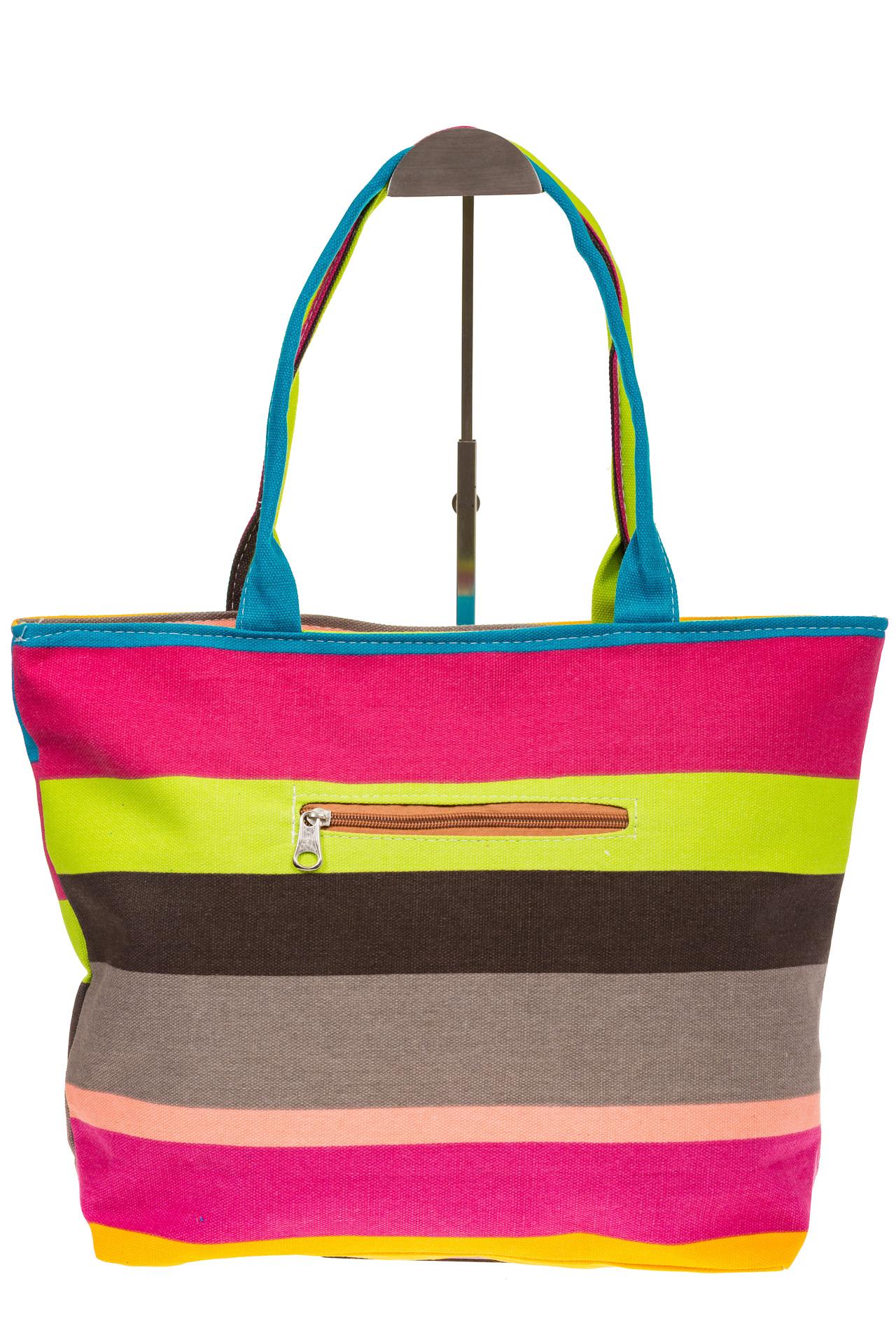 На фото 3 - Яркая текстильная сумка с желтым цветом 5930