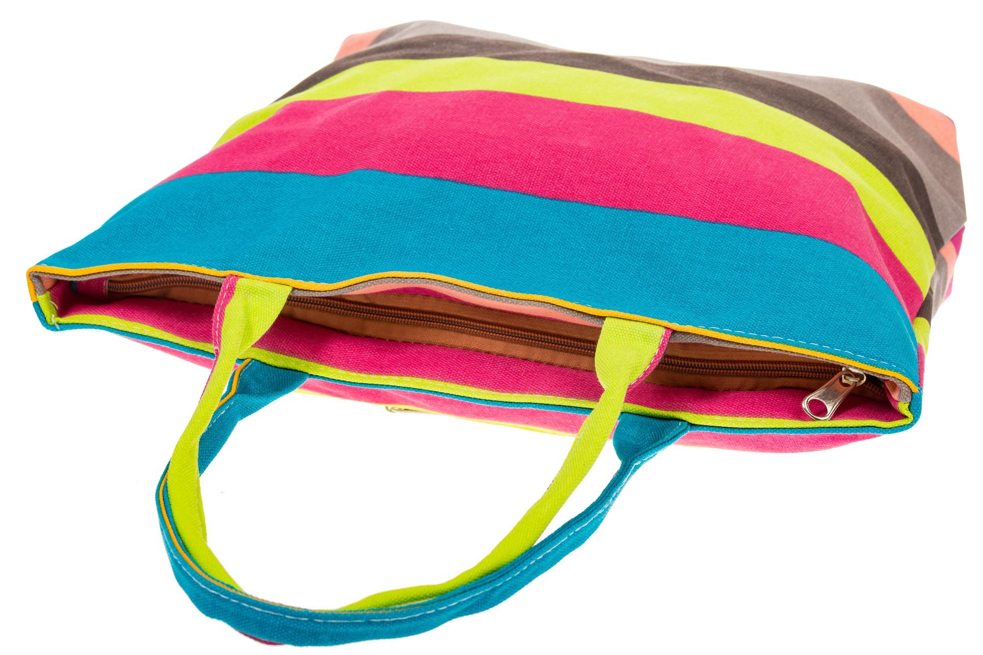 На фото 4 - Яркая текстильная сумка с желтым цветом 5930