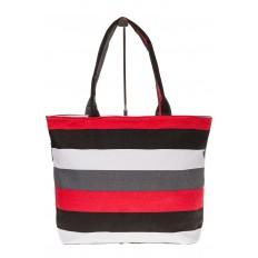 На фото 2 - Яркая текстильная сумка с белым цветом 5930TM5