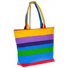 на фото Яркая текстильная сумка с фиолетовым цветом 5930TM5