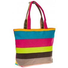 на фото Яркая текстильная сумка с малиновым цветом 5930TM5