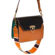 на фото Оранжевый shoulder bag из искусственной кожи 60061MJ5