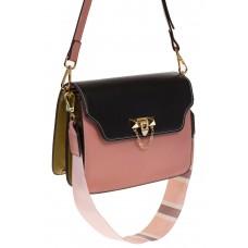 на фото Розовый shoulder bag из искусственной кожи 60061MJ5