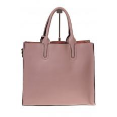На фото 3 - Женская сумка-шопер цвета фуксия 6009MK5