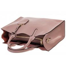 На фото 4 - Женская сумка-шопер цвета фуксия 6009MK5
