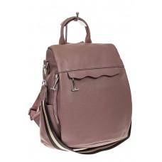 На фото 1 - Рюкзак «Антивор» из натуральной кожи, цвет ...