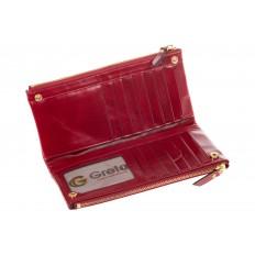 На фото 2 - Красное портмоне под мрамор 6012